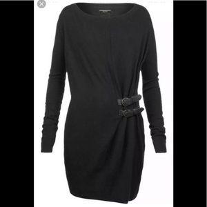 All saints Ellil Jumper Dress sz 2 Wool Blend New